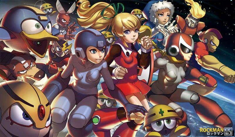 Illustration for article titled Mega Man Becomes Mega Girl