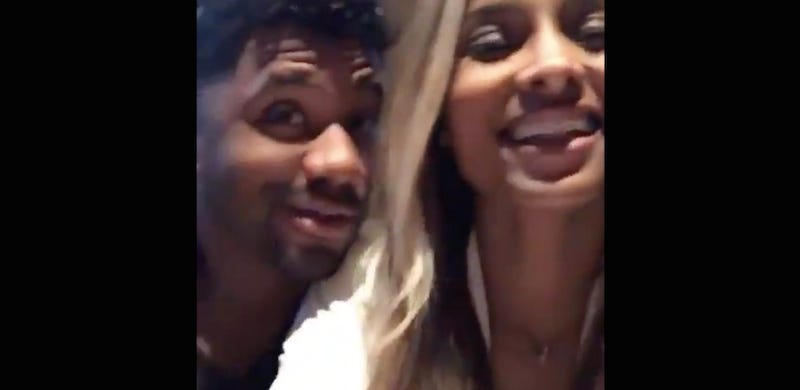 Illustration for article titled Russell Wilson And Ciara: That's Right, We Fucked