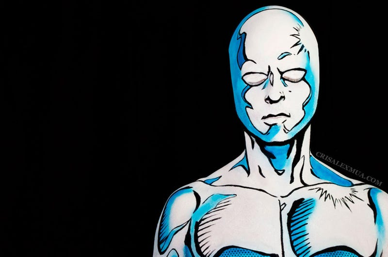 Illustration for article titled This Isn't A Drawing Of The Silver Surfer. It's A Photo Of A Real Guy.