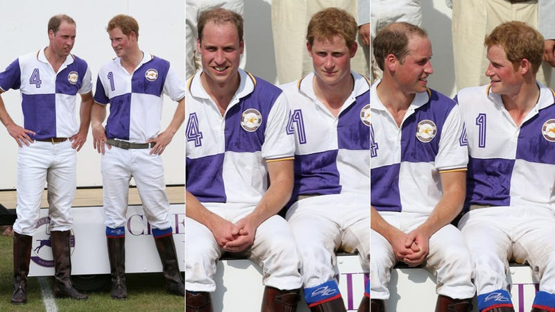 Illustration for article titled Prince William Plays Fun Game of 'Mirror' While Awaiting Birth of Child