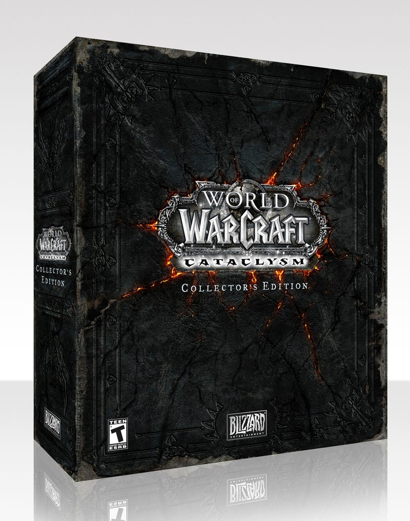 Illustration for article titled World Of Warcraft Cataclysm Gets An $80 Special Edition