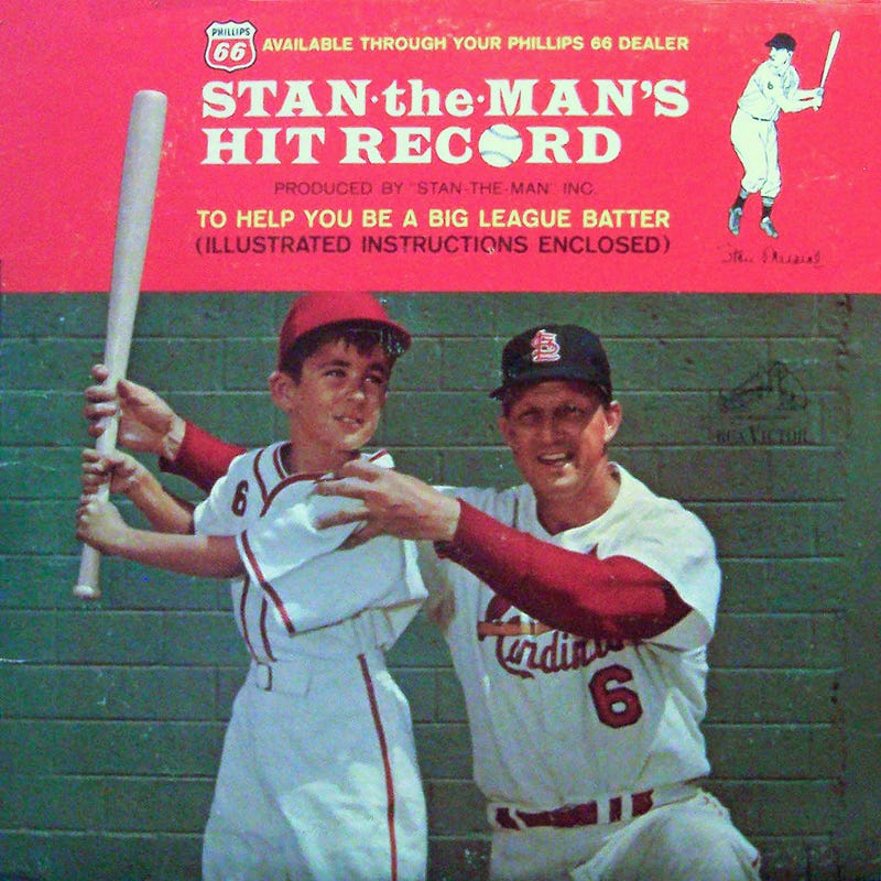 Illustration for article titled Learn To Hit Like Stan Musial From This Cool Old Vinyl Record