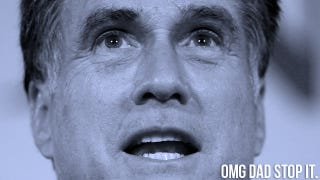 Illustration for article titled Mitt Romney Is Running For America's Embarrassing Dad