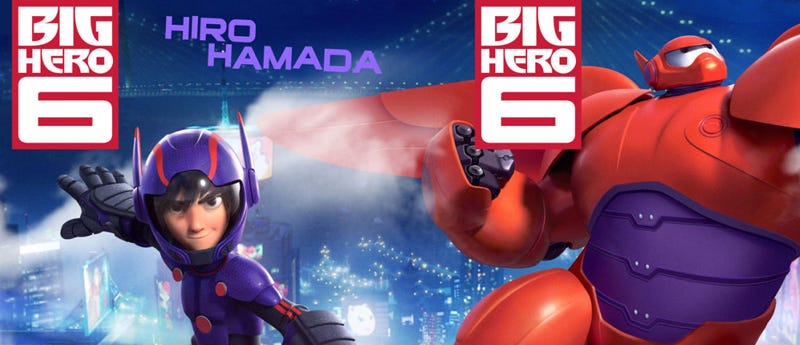 Illustration for article titled Just who are Big Hero 6 anyway?