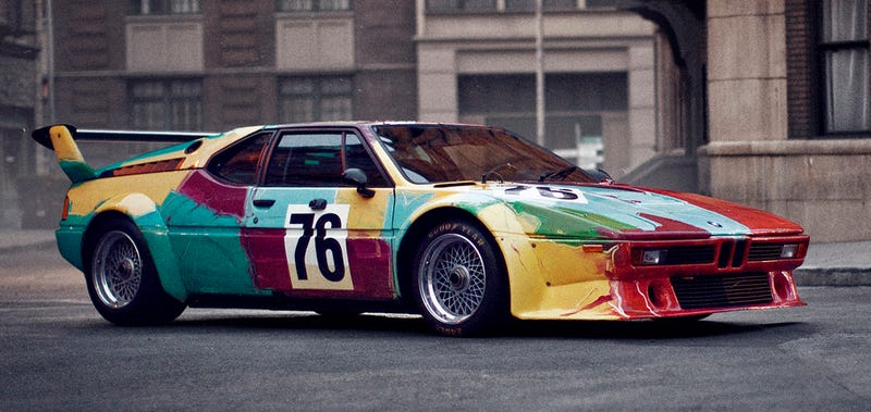 Andy Warhol couldn't pick just one. (Image Credit: BMW)