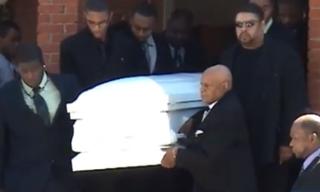 LaShanda Armstong's funeral in Newburgh, N.Y., April 21, 2011YouTube screenshot