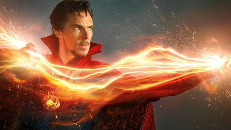 Marvel does have some movies to promote, like Doctor Strange (Image/Photo: Michael Muller/Marvel)