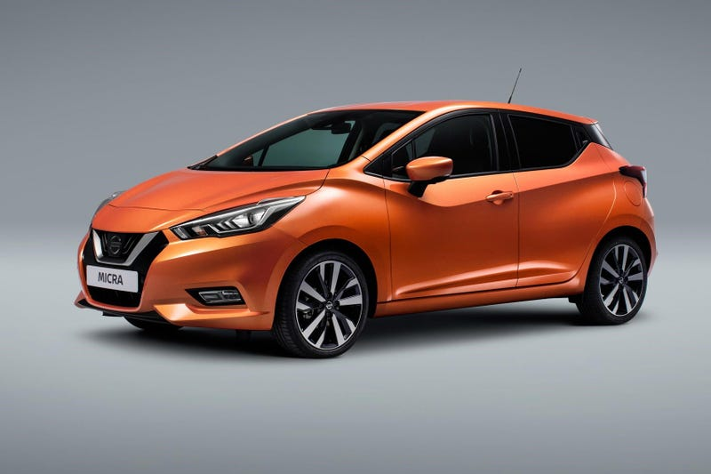 Illustration for article titled New Nissan Micra!
