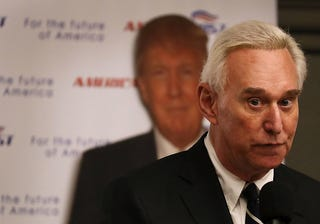 Illustration for article titled Roger Stone Claims Russian National Offered 'Dirt' on Hillary Clinton in Exchange for $2 Million