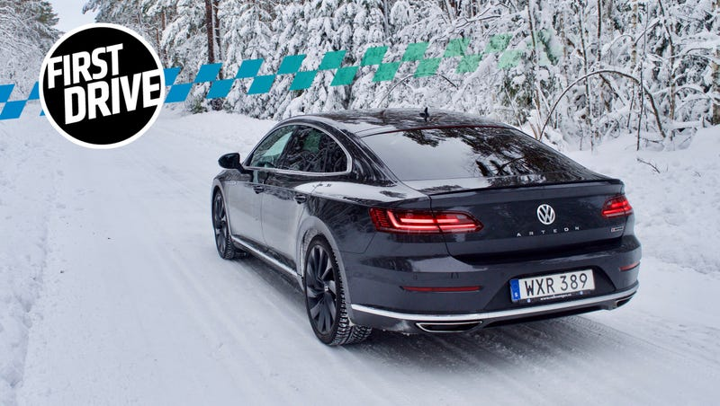 The 2018 Volkswagen Arteon Is A Gorgeous Grand Tourer But