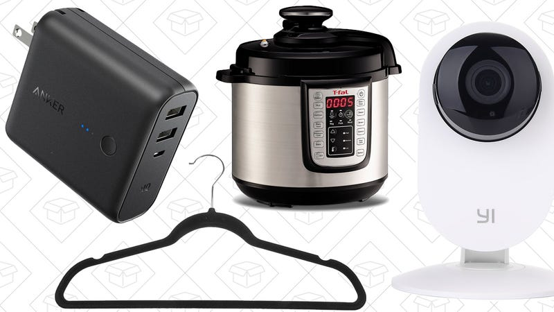 Illustration for article titled Saturday's Best Deals: Anker Gold Box, T-fal Kitchen Accessories, and More
