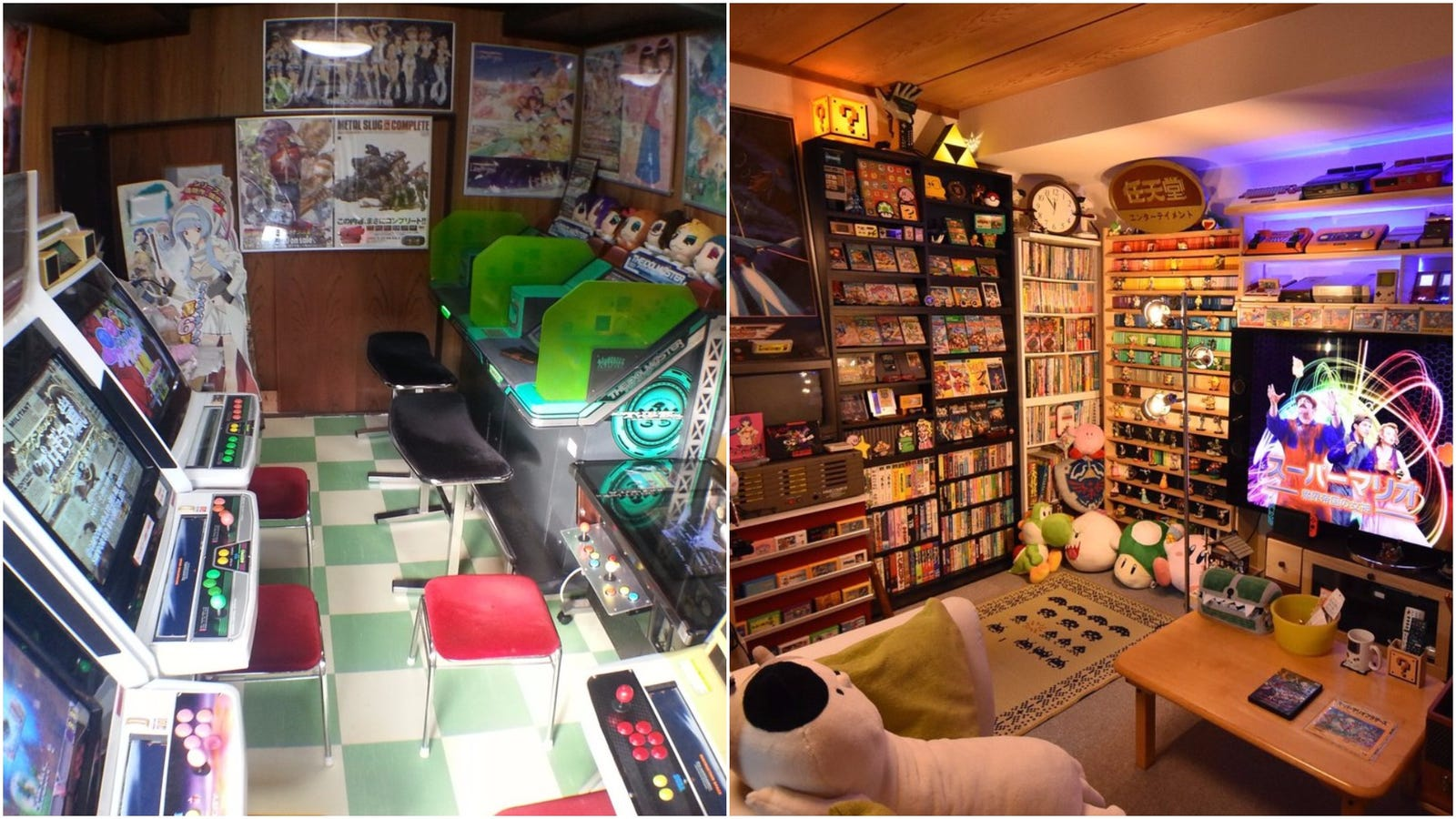 Inside japan 39 s coolest video game rooms for Cool home game rooms