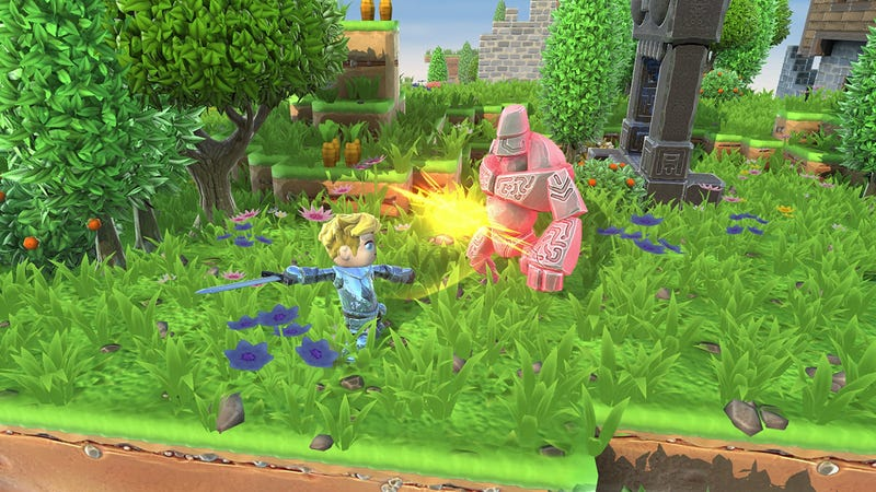 Illustration for article titled Steam's Popular Portal Knights Channels Minecraft And Zelda, Comes Up Short