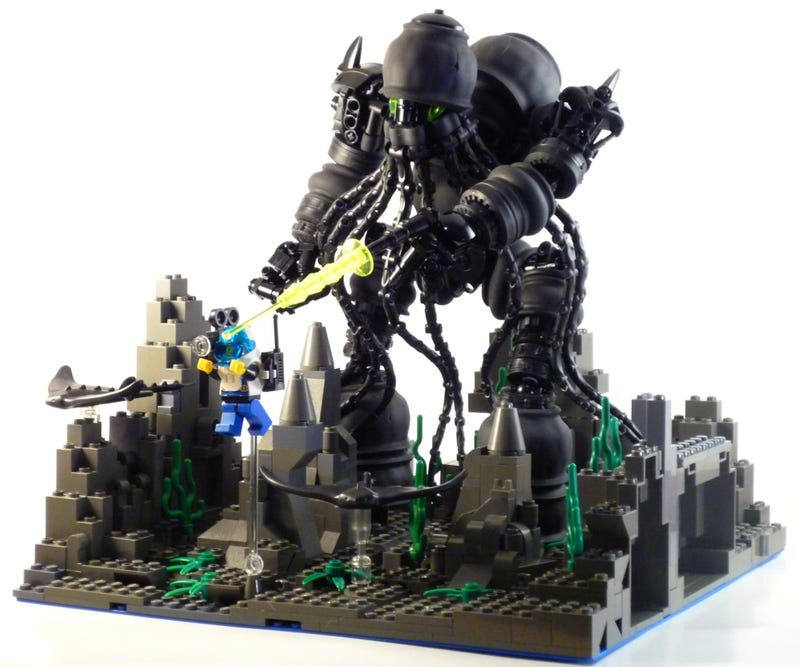 These Cthulhu Lego Sets Will Drive You Insane With Little
