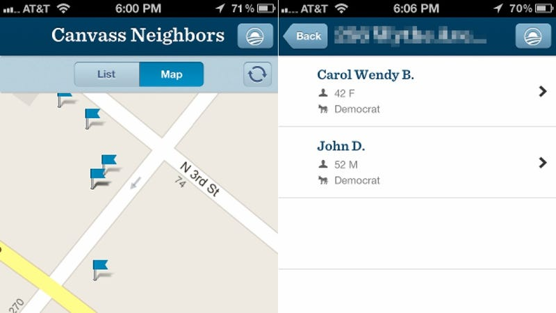 Illustration for article titled Obama's New iPhone App Is Questionably Loose With User Data and Privacy