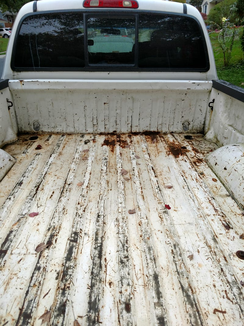 Illustration for article titled Truck bed rust and refinishing questions