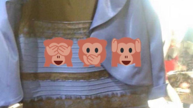 Illustration for article titled Remember #TheDress sensation? It's back, in emoji form