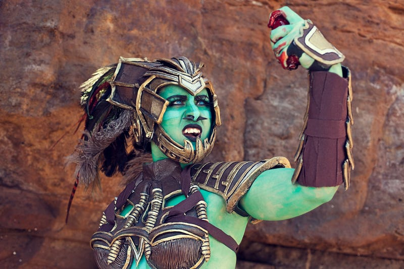 Illustration for article titled Mortal Kombat Cosplay Is Ripping Out Hearts