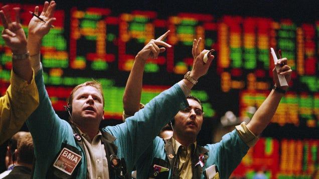 Dow Skyrockets After Coronavirus Begins Trading On New York Stock Exchange