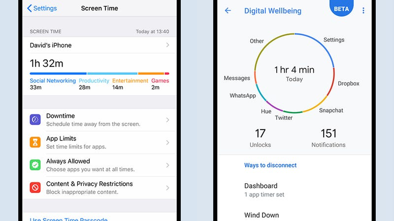 How To Use Ios 12 And Android 9 Pie To Track Your Phone Usage