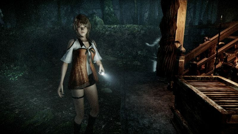 Illustration for article titled Constant dread saves the clumsy Fatal Frame: Maiden Of Black Water