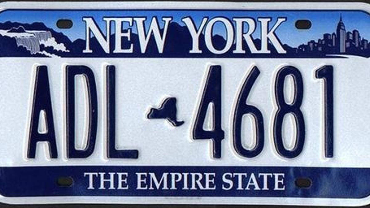 History Of New York License Plates: Photo Gallery