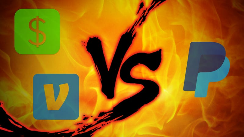 Money Transfer Showdown: Square Cash vs  Venmo vs  PayPal