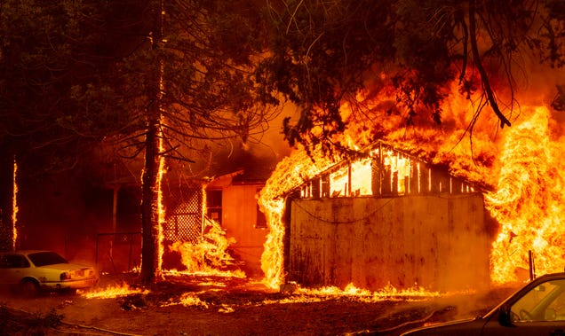 PG&E Planning Potential Power Shutoffs in California Amid Raging Dixie Fire