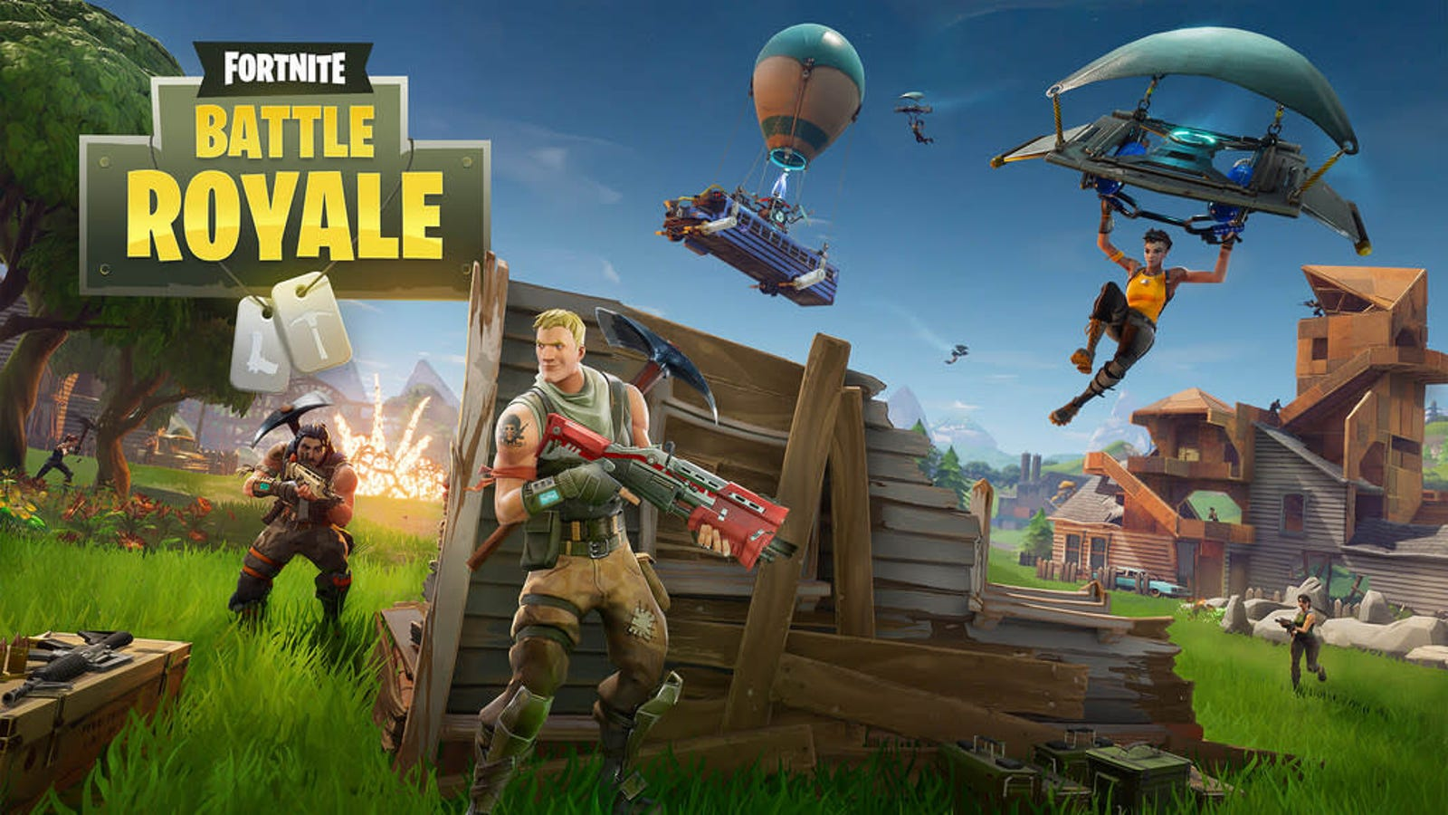 How to Get Started Playing 'Fortnite Battle Royale'