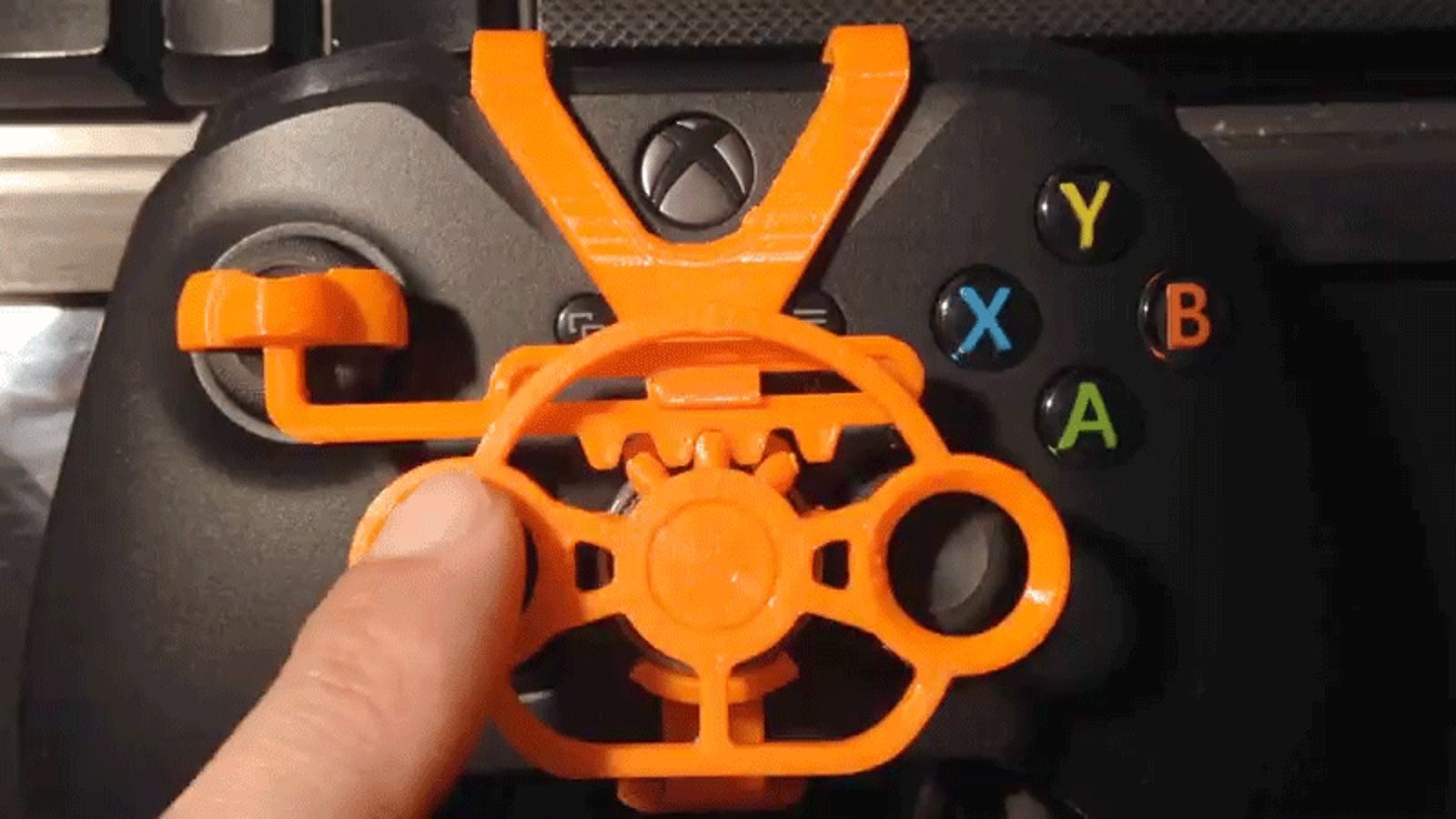 Diy Xbox One Racing Wheel Made On A Budget With 3d Printing
