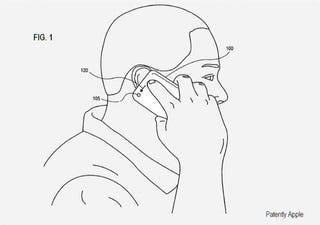 Illustration for article titled Patent Points to Camera-Based Swipe Controls For iPhone