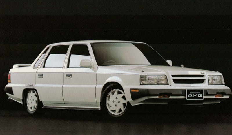 Illustration for article titled Forgotten Cars: Anyone Remember The Time AMG Did Up A Mitsubishi?