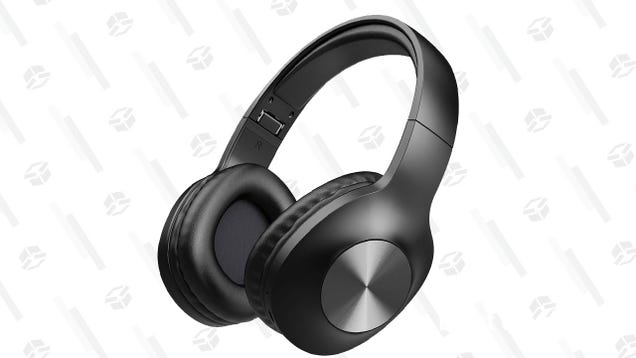 Listen To All The Things With These Long-lasting Bluetooth Headphones