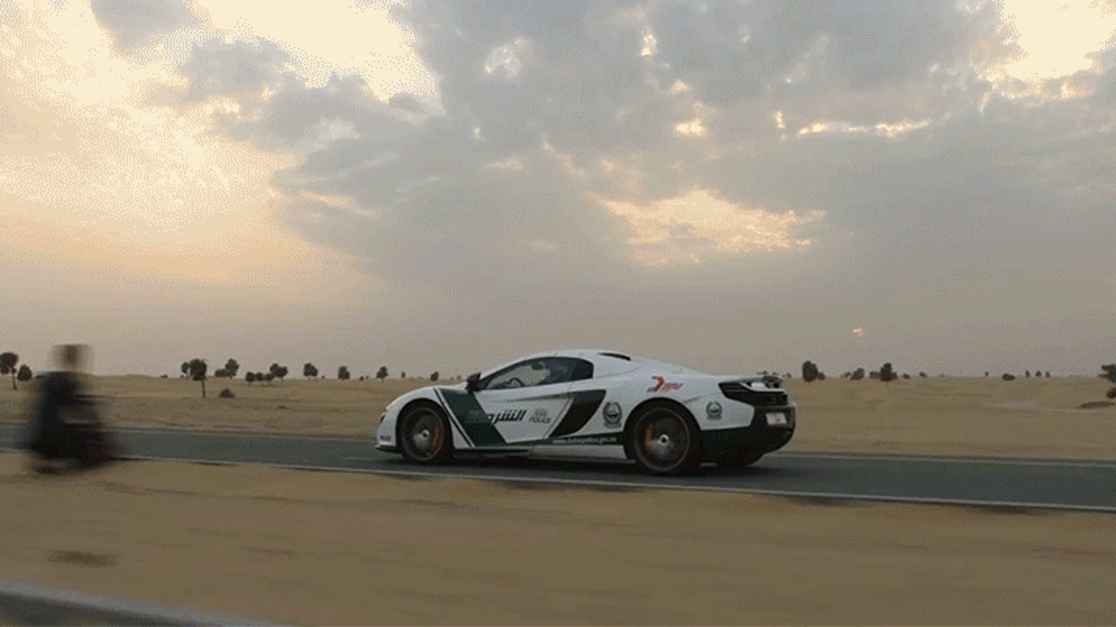 There Are No Losers When a Drone Races a McLaren Supercar