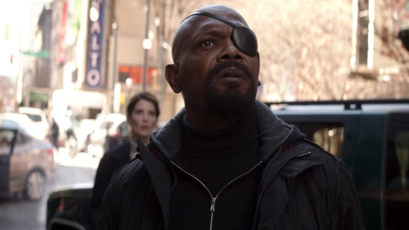 Nick Fury and Maria Hill have their world changed in Avengers: Infinity War.