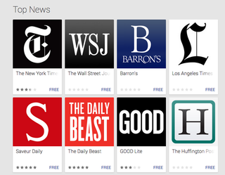 Illustration for article titled Google Play Newsstand Is Your Personalized Feed of Stuff to Read