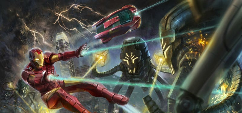 Illustration for article titled Skip That Trip to Hong Kong and Watch This POV Video of Disney's Iron Man Experience Ride