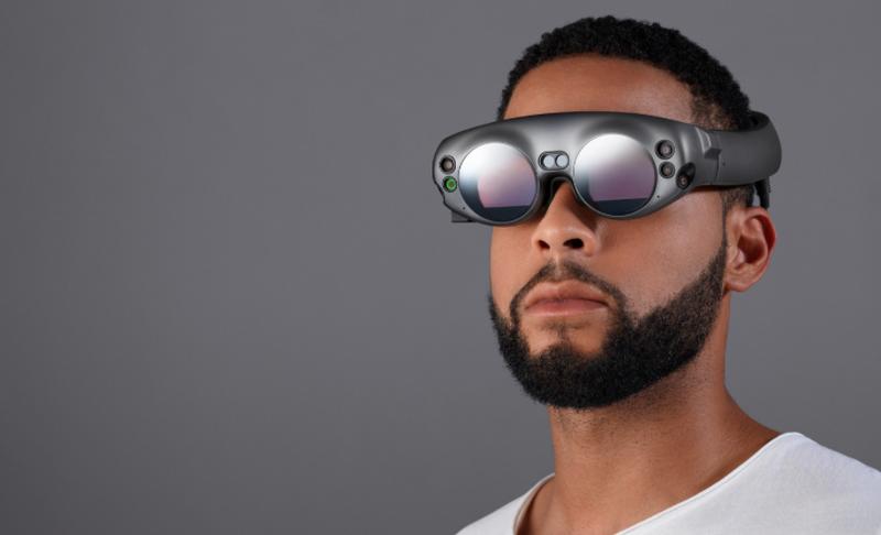 Illustration for article titled Las gafas de realidad mixta de Magic Leap por fin llegan en 2018, y este es su extraño aspecto