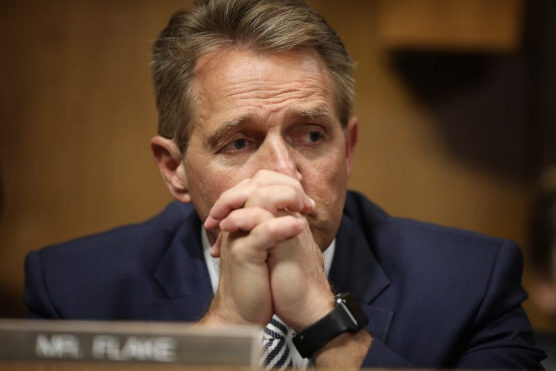 Illustration for article titled Sexual Assault Survivors Confront Sen. Jeff Flake: 'Look at Me and Tell Me That It Doesn't Matter What Happened to Me'