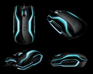 Illustration for article titled Razer Tron Mouse Has Lots of Whoooosh Potential