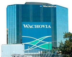 Illustration for article titled Wachovia's Record Losses