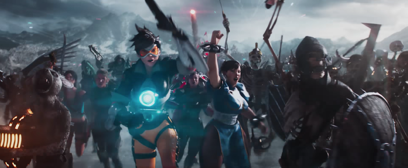 Illustration for article titled The New Ready Player One Trailer Is Filled With Video Game, Anime, And Comic Book Characters