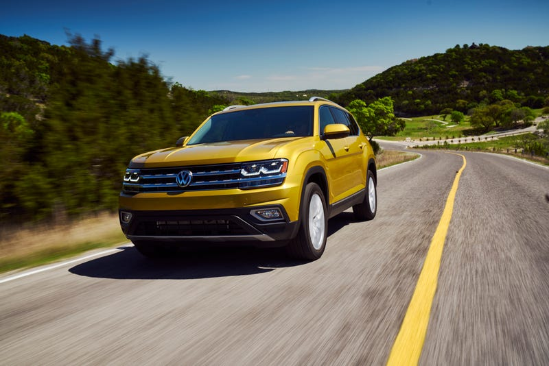 Illustration for article titled The 2018 Volkswagen Atlas Will Actually Be Competitive At $31,425
