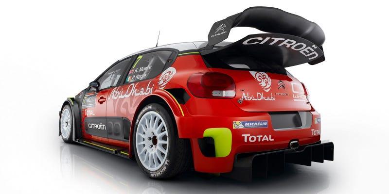 Illustration for article titled The Citroen C3 WRC