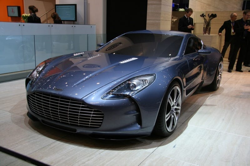 1 4 million aston martin one 77 only second most expensive car. Black Bedroom Furniture Sets. Home Design Ideas
