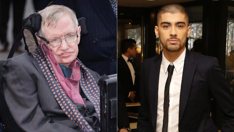 Illustration for article titled Stephen Hawking Uses Theoretical Physics to Calm Heartbroken 1D Fans