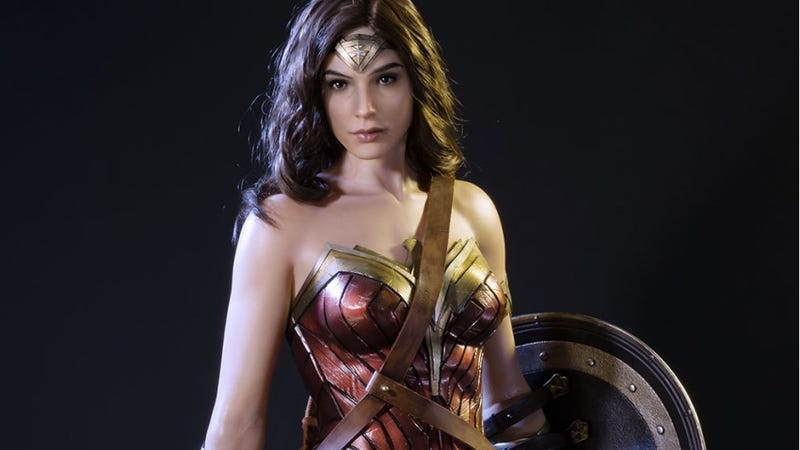This $2K Wonder Woman Statue Will Mess With Your Mind