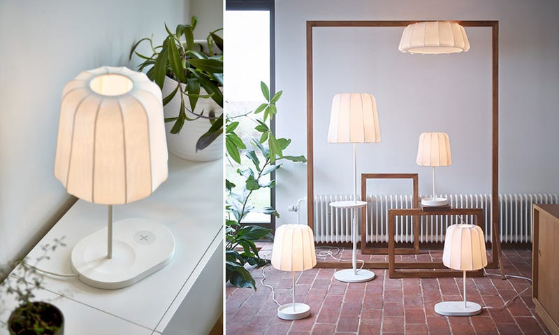 Illustration for article titled Ikea prepara toda una nueva línea de muebles con carga inalámbrica