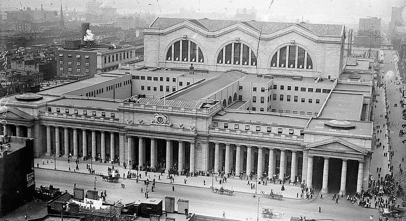 Illustration for article titled Proposal: Tear Down Madison Square Garden and Rebuild Pennsylvania Station