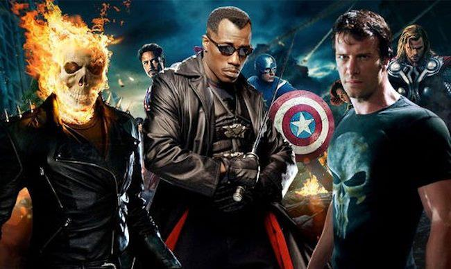 Marvels Got The Blade Punisher And Ghost Rider Movie